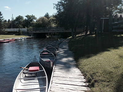 canoe rentals ausable river
